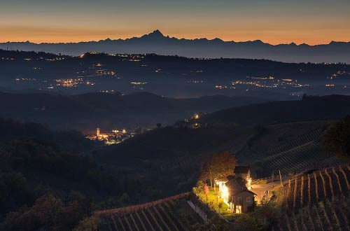 Rizieri - The agriturismo by night